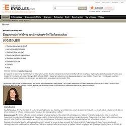 Ergonomie web - Interview de l'auteur : Amélie Boucher