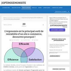 L'ergonomie est le principal outil de rentabilite d'un site e-commerce, decouvrez pourquoi !
