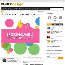 Ergonomie et structure du sitePoule Design