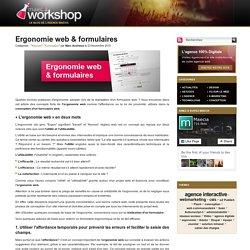 Ergonomie web et formulaires