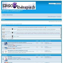 Forum Ergotherapeutes