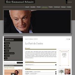 Eric-Emmanuel-Schmitt - Le site officiel