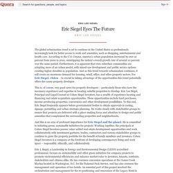 Eric Siegel Eyes The Future - Eric Lee Siegel - Quora
