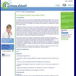 Le Voyage du Héros avec Robert Dilts - Graines d'éveil - Formations PNL - Coaching - Hypnose Ericksonienne - Stages & Conférences - Lausanne - Genève