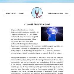 Hypnose Ericksonienne Thérapies Brèves Saint Rémy de Provence