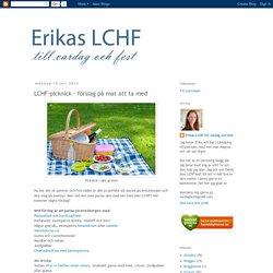 LCHF-picknick - förslag på mat att ta med