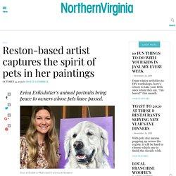 Erica Eriksdotter's pet portraits memorialize animals