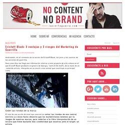 Eristoff Black: 3 ventajas y 3 riesgos del Marketing de Guerrilla
