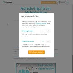Recherche-Tipps für dein Erklärvideo-Skript - mysimpleshow