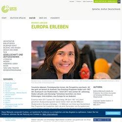 Europa erleben - Erasmus-Jubiläum: Goethe-Institut