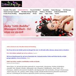 """ERLEUCHTUNG - Meine Homepage, Tao Tantra Massage in Kärnten, Jacky """"Little Buddha"""" in Villach"""