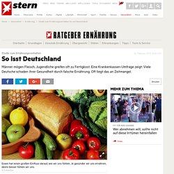 Studie zum Ernährungsverhalten: So isst Deutschland
