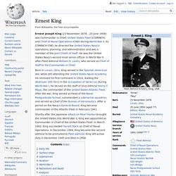 Ernest King