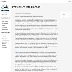 Ernesto Hanson