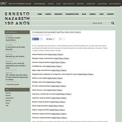 Ernesto Nazareth - 150 anos