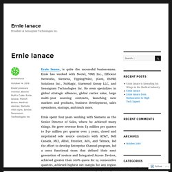 Ernie Ianace