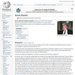 Ernst Zündel