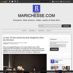 Le top 10 des zones les plus érogènes chez les femmes - Marichesse.com