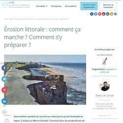 L'érosion littorale : comment ça marche et comment s'y préparer ?