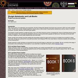 Online Books : Alexander Shulgin's Lab Books