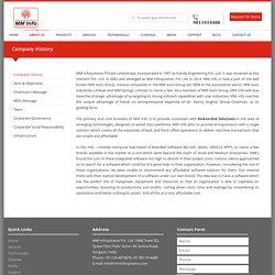 ERP Company History