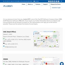 ERP Software UAE