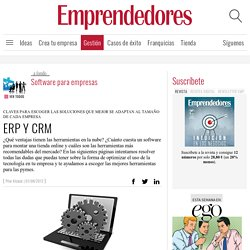 ERP Y CRM - Software para empresas