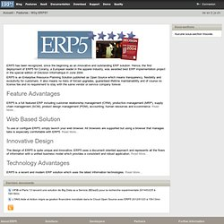 ERP5 Most Powerful Open Source ERP