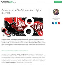 8-L'errance de Teufel, le roman digital interactif