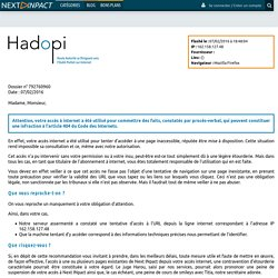 Emploi - Next INpact - Recherche d'emploi domaine informatique