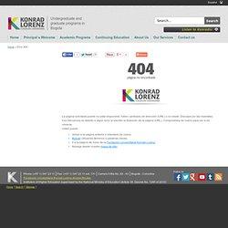 BIBLIOTECA: Fundación Universitaria Konrad Lorenz