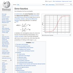 Error function - Wikipedia