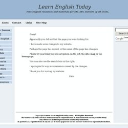 English presentations - useful phrases