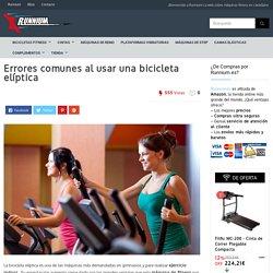 Errores comunes al usar una bicicleta elíptica - Runnium.es