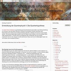 II: Die Quantenhypothese