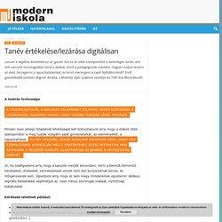 Tanév értékelése/lezárása digitálisan