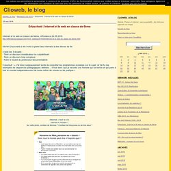 Ertzscheid : Internet et le web en classe de 6ème