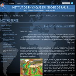 INSTITUT DE PHYSIQUE DU GLOBE DE PARIS