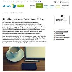 Digitalisierung in der Erwachsenenbildung