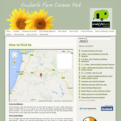 Erwbarfe Farm Caravan Park Mid Wales » How to Find Us