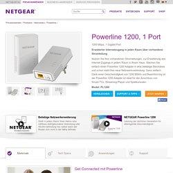 Powerline 1200: Erweiterter Internetzugang in jeden Raum