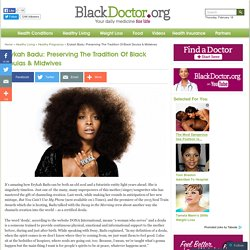 Erykah Badu Helped Birth 40 Babies As A Doula