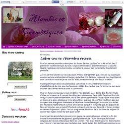 Crème soin de l'érythème fessier - Alambics et Cosmétiques