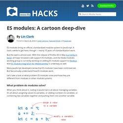 ES modules: A cartoon deep-dive – Mozilla Hacks – the Web developer blog