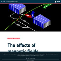 - The effects of magnetic fields
