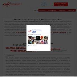 ESAF Microfinance