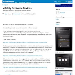 eSafety for Mobile Devices