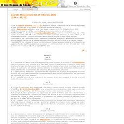 ESAME DI STATO 2002 - QUADRO NORMATIVO