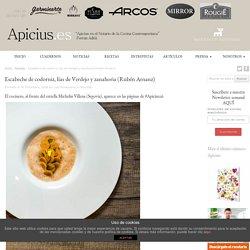 Escabeche de codorniz, lías de Verdejo y zanahoria (Rubén Arnanz) - Apicius.es