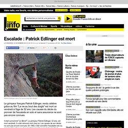 Escalade : Patrick Edlinger est mort